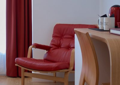 Detalle escritorio Iradi Boulevart room