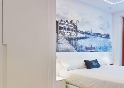Boulevart room mural nautico